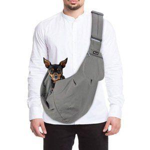   furbaby love: pet shoulder carrier sling  